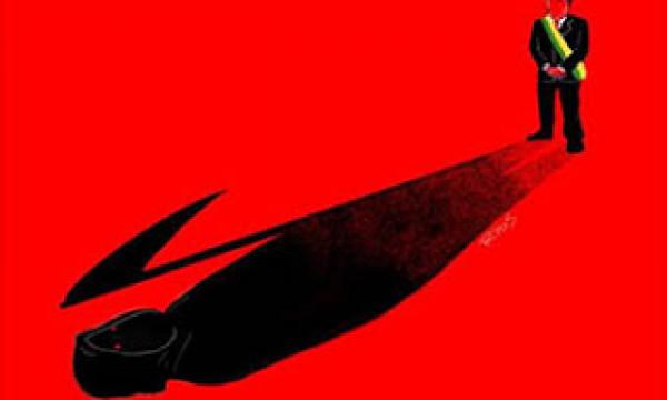 O genocida Bolsonaro estimula o caos social