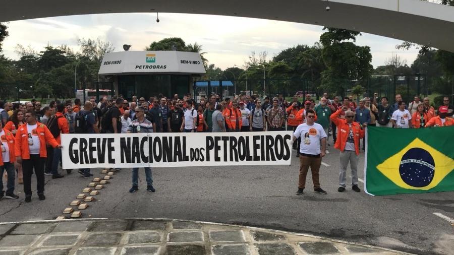 Centrais sindicais sobre demissões e greve na Petrobras