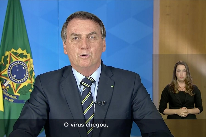 Pronunciamento de Bolsonaro sobre o coronavírus provoca repúdio geral