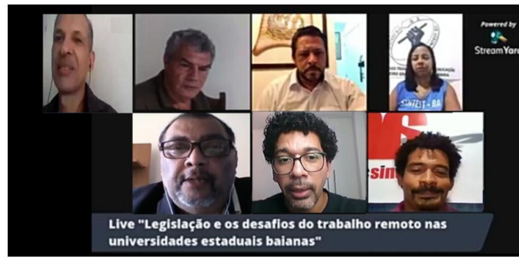 CTB-Bahia debate legislação e os desafios do trabalho remoto administrativo nas Universidades Estaduais da Bahia