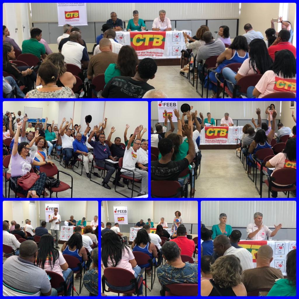 CTB –Bahia debate em plenária, eleição  do conselho e Unicidade Sindical