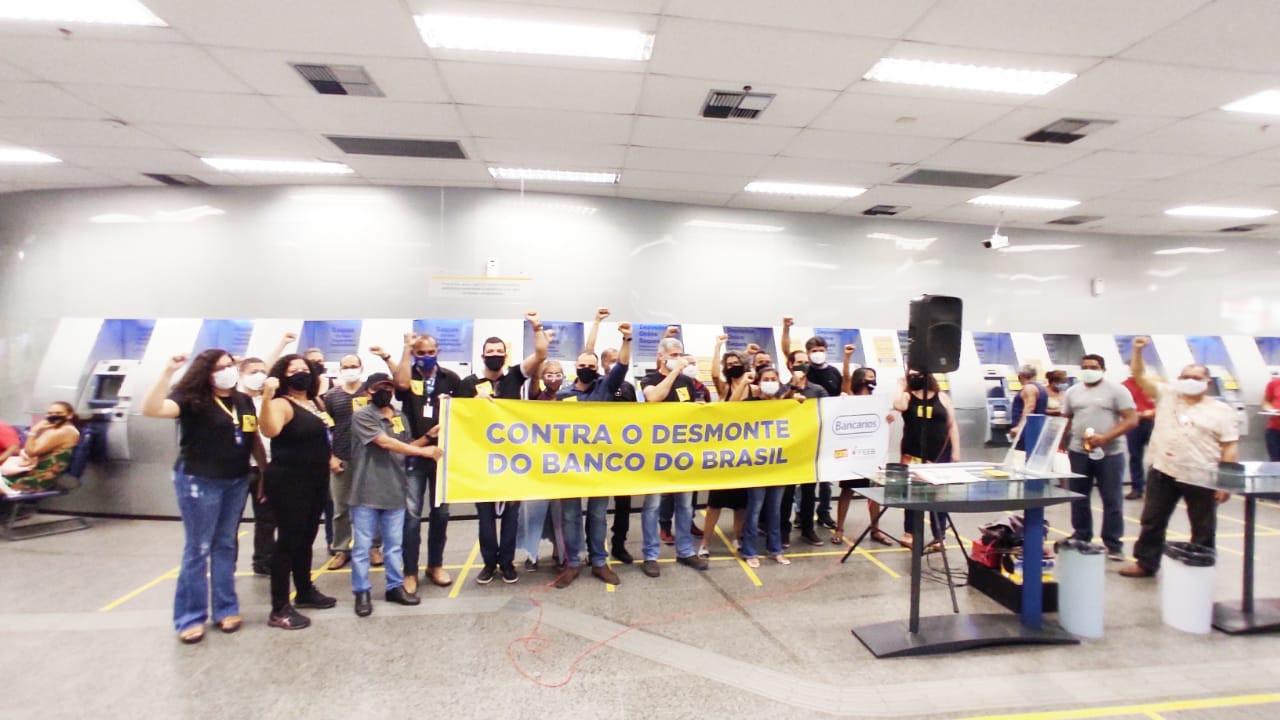 Sindicato dos Bancários da Bahia realiza ato  sexta-feira no Banco do Brasil do Comércio