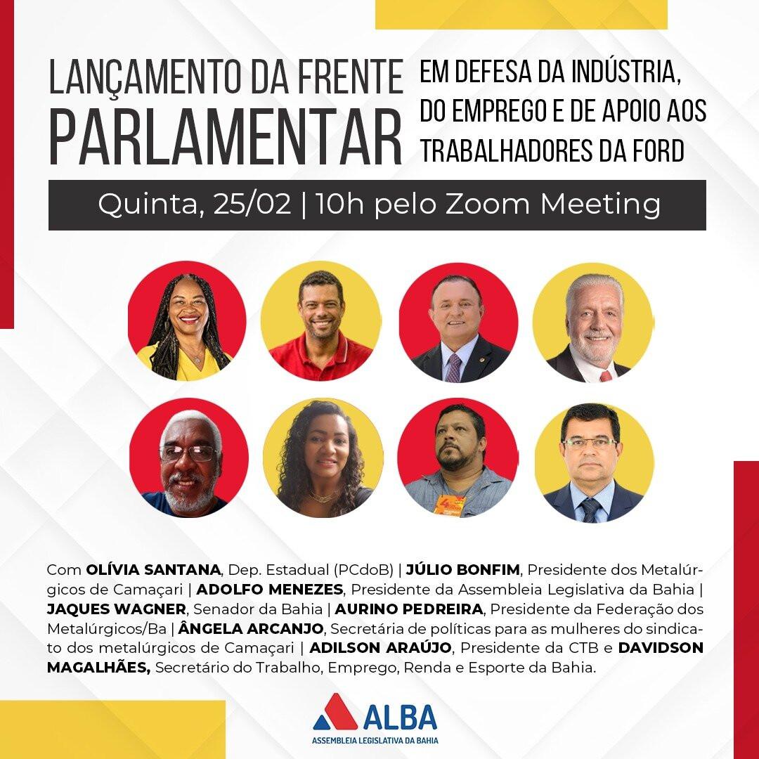 Bahia ganha frente Parlamentar em Defesa da Indústria e do Emprego