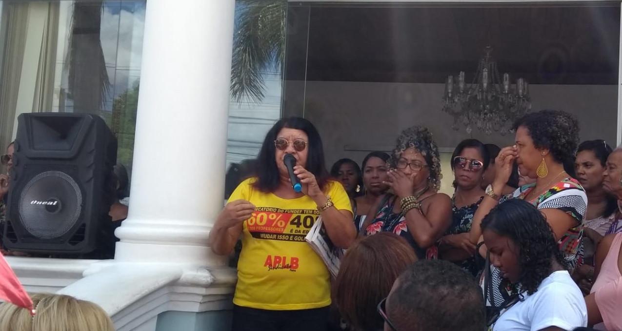 Professores da Rede Municipal de Feira de Santana continuam em greve