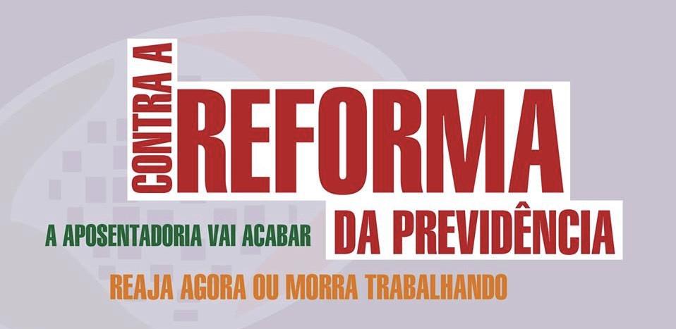 Centrais sindicais realizam ato contra Reforma da Previdência no aeroporto de Salvador