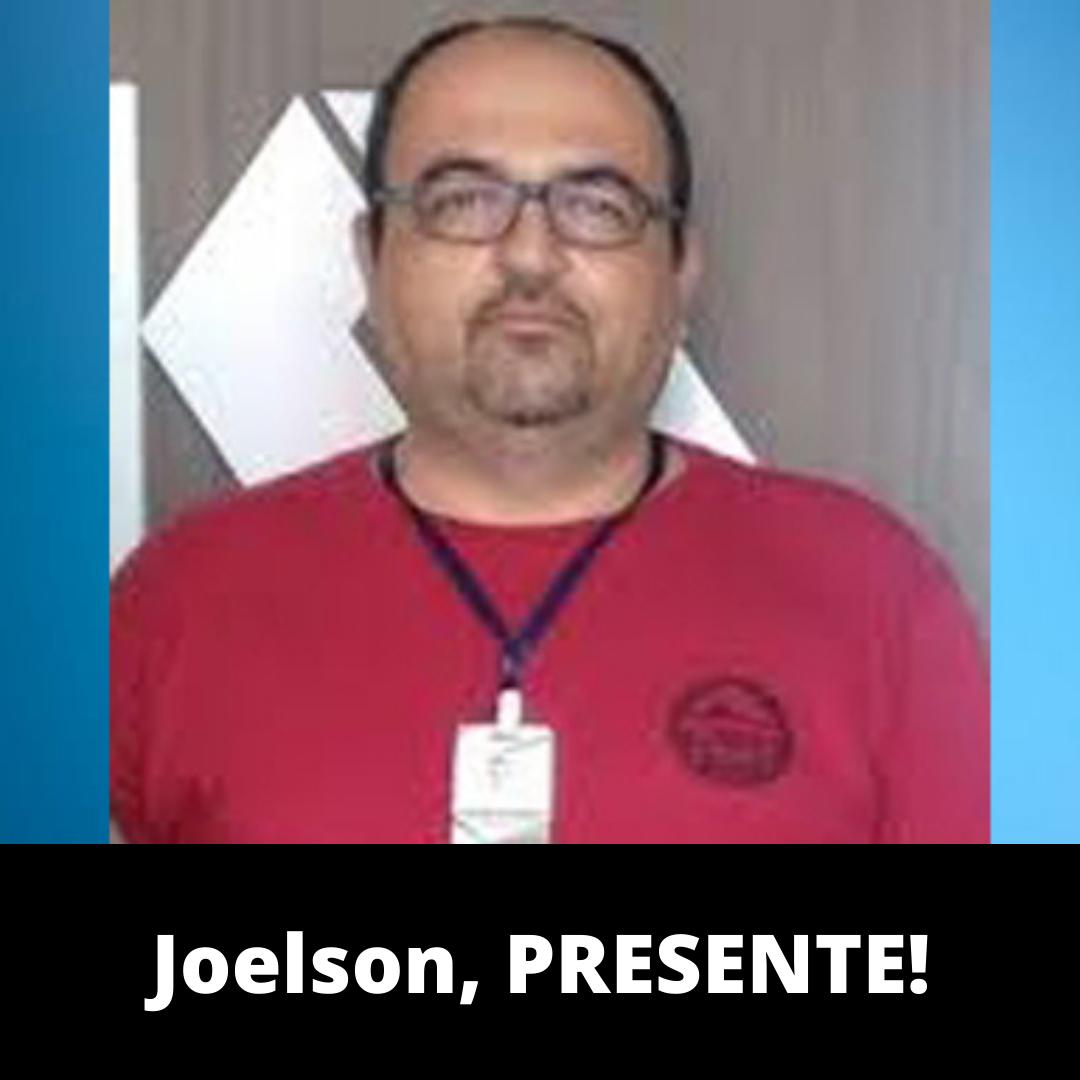 Nota de pesar da CTB-BA sobre a morte do companheiro Jaelson Vasconcelos
