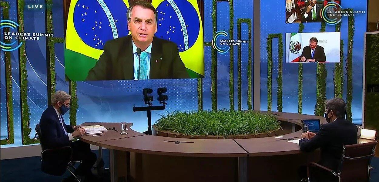 Brasil desmoralizado: Biden e Kamalla Harris não estavam presentes durante discurso de Bolsonaro