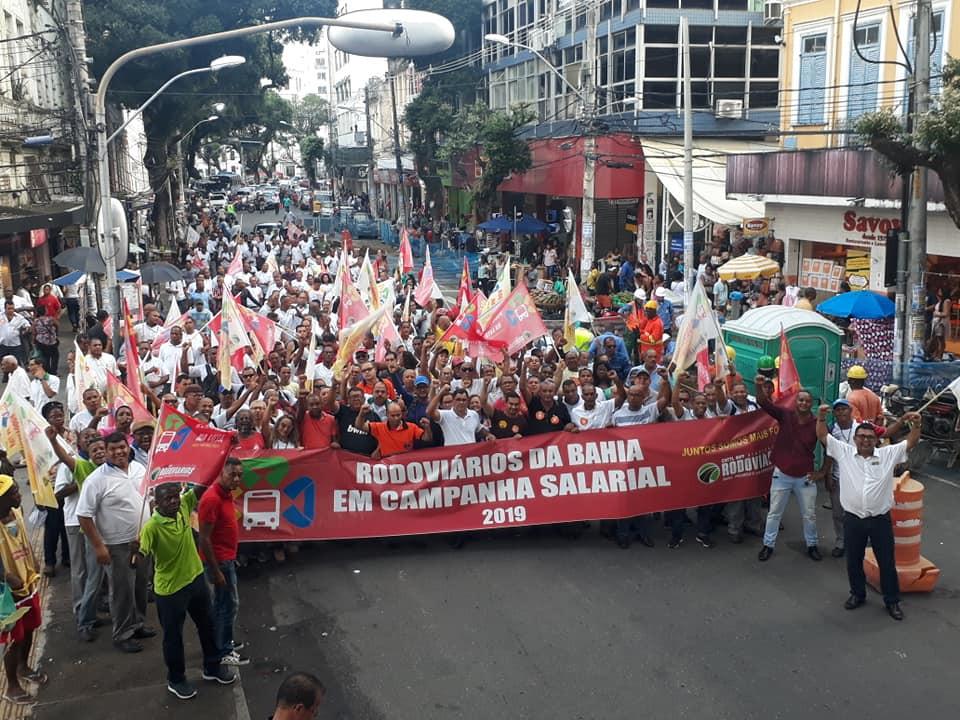 Rodoviários mantêm greve para essa semana em Salvador