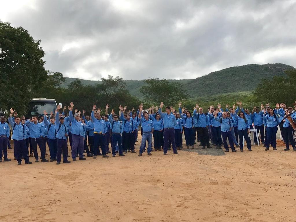 Maracás: Trabalhadores da Vanádio conquistam avanços no acordo coletivo