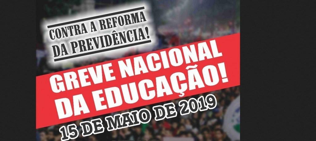 Rumo à greve geral: Professores vão parar nesta quarta (15)