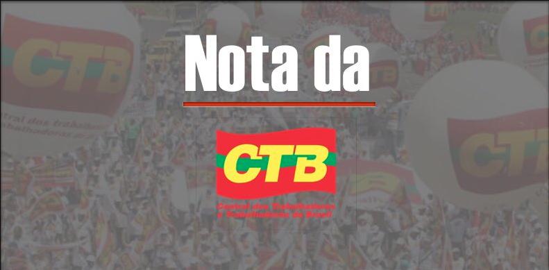 CTB repudia ameças neofascistas e manifesta total solidariedade a Manuela