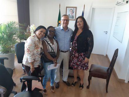 SindSaúde trata demandas da categoria com o secretário de Saúde da Bahia