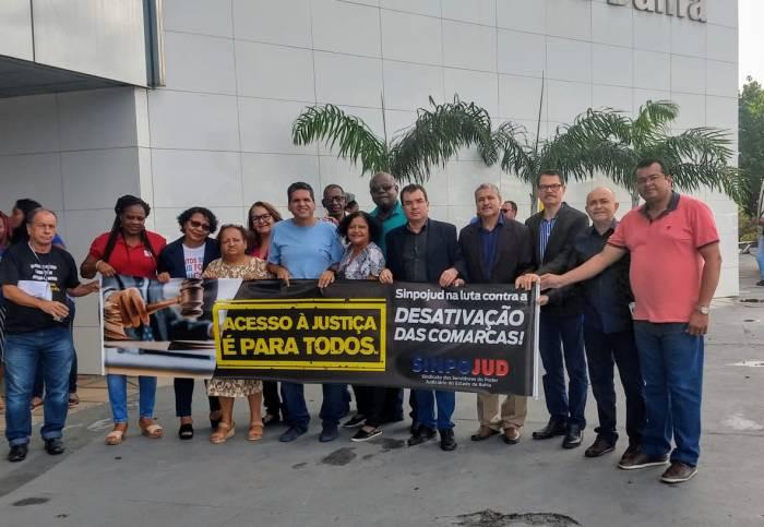 Sinpojud encampa luta contra a desativação de comarcas em sessão plenária do TJBA
