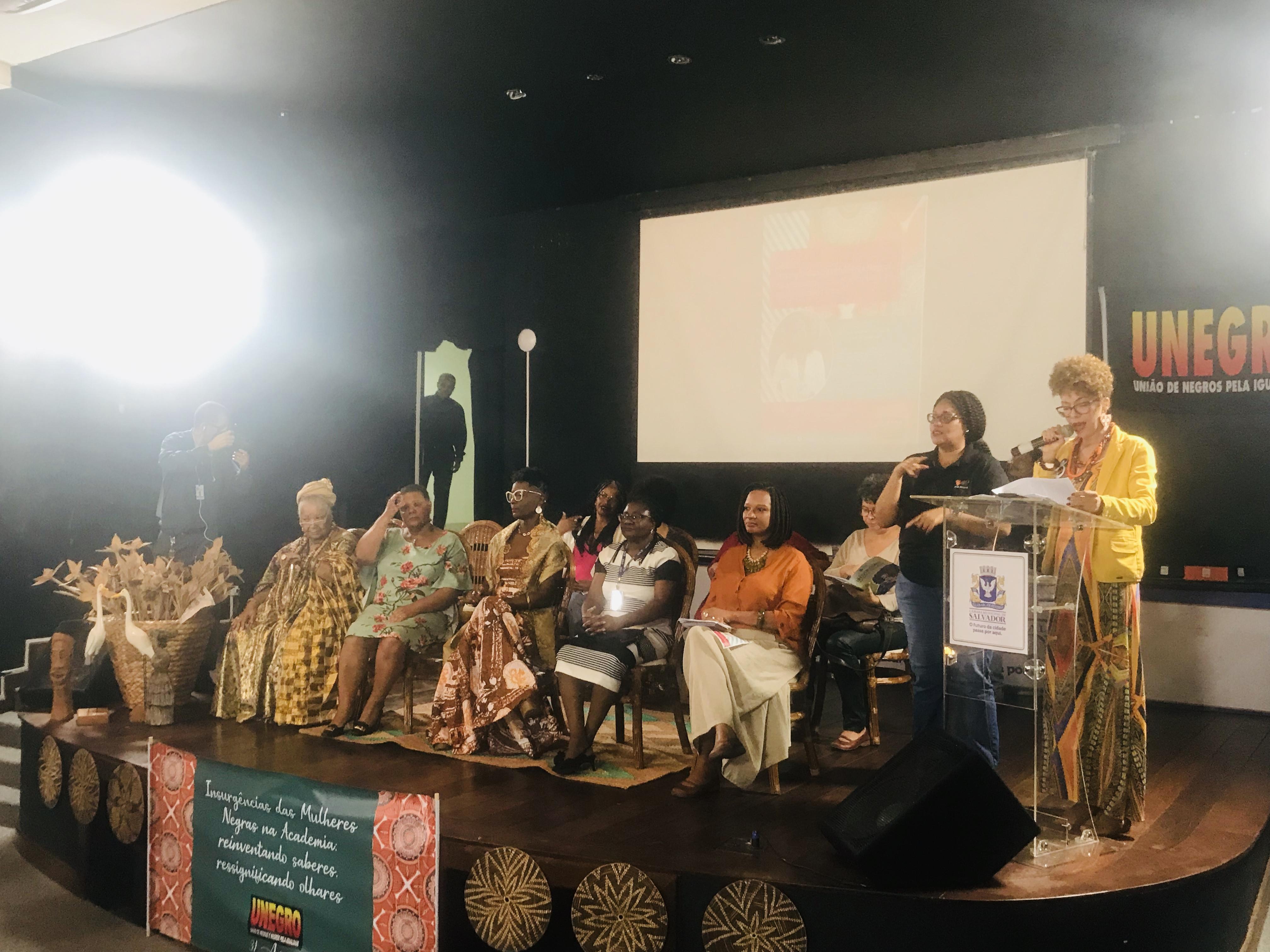 CTB Bahia participa de debate sobre a participação das mulheres negras no mundo acadêmico