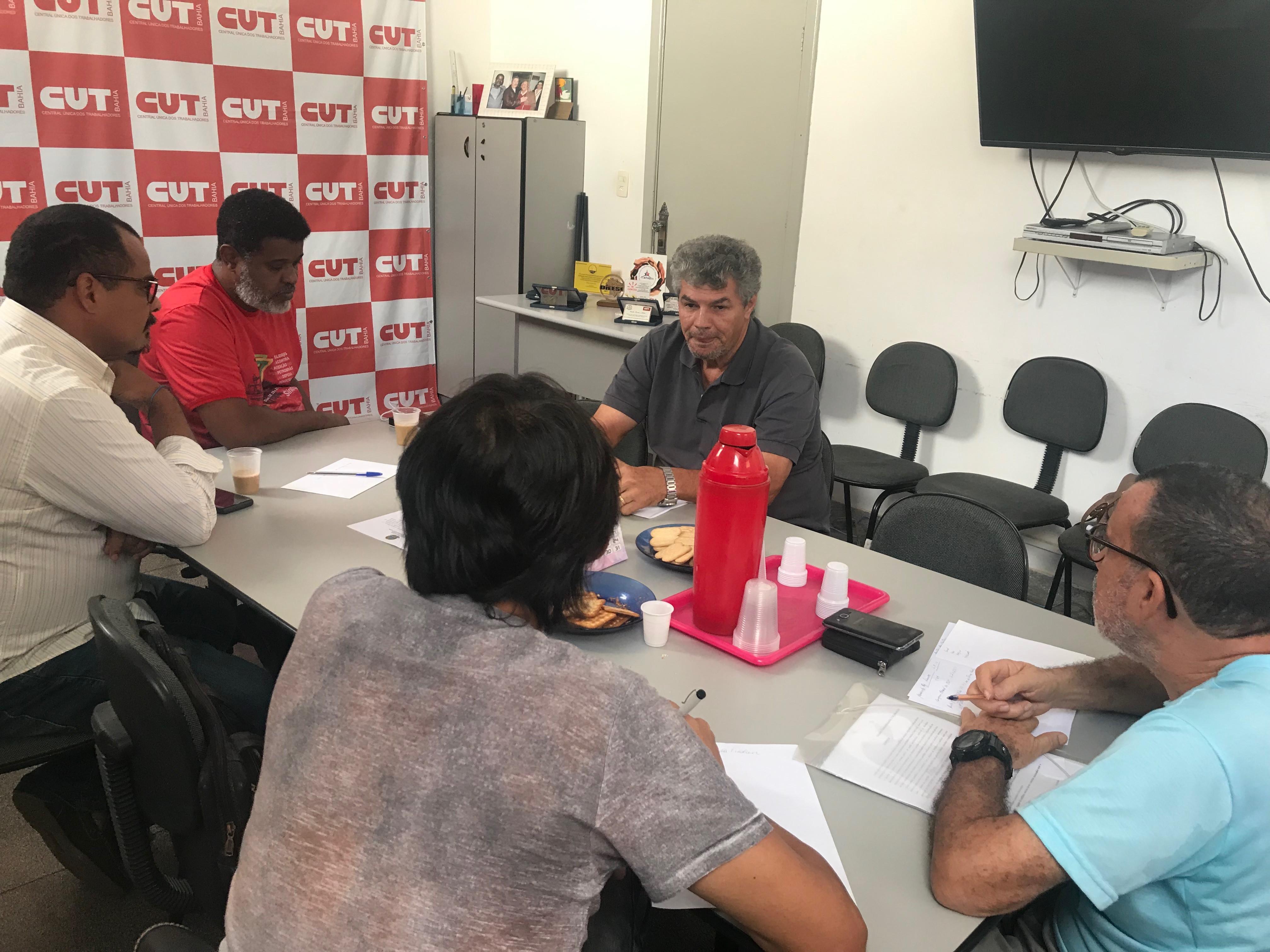 CTB  Bahia participa de reunião  com as Centrais Sindicais  para discutir a luta unificada