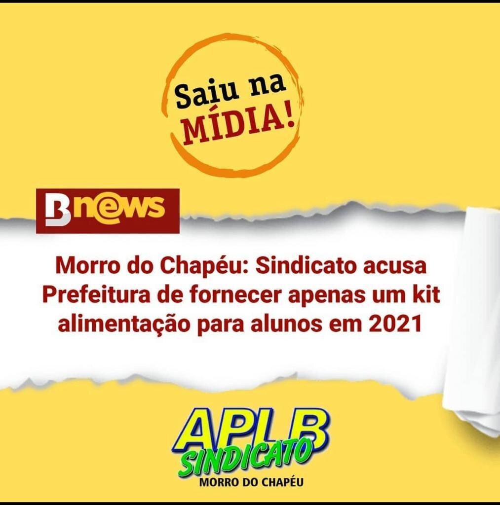 Prefeitura de Morro do Chapéu tenta calar voz do Sindicato dos Professores