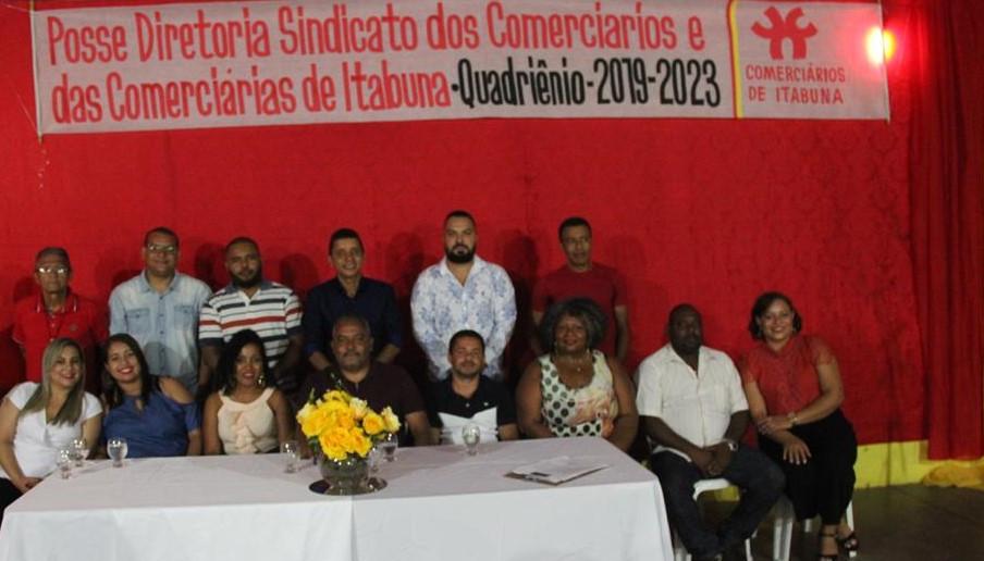 Nova diretoria do sindicato dos Comerciários de Itabuna toma posse
