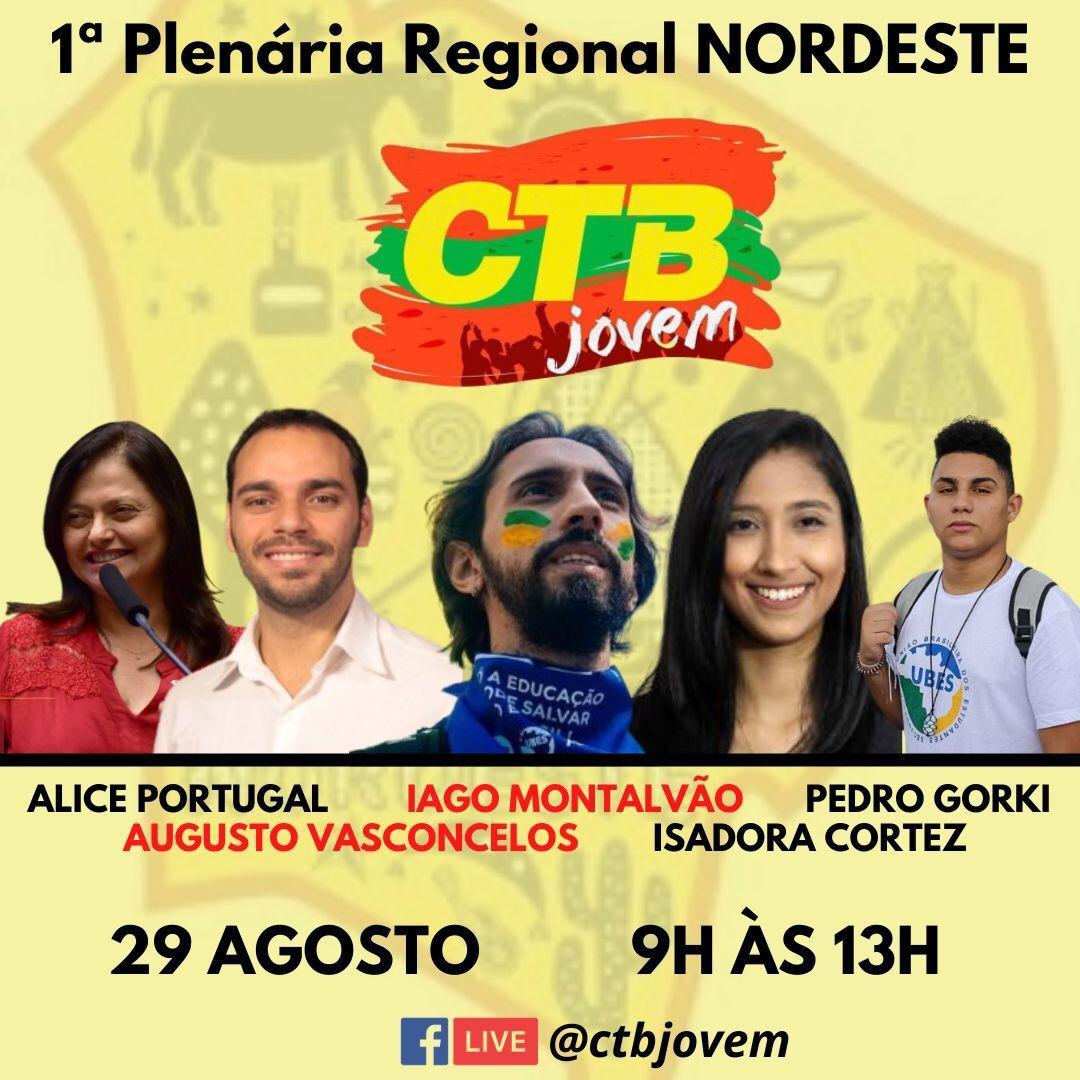 1ª Plenária da CTB-Jovem será realizada  sábado (29)