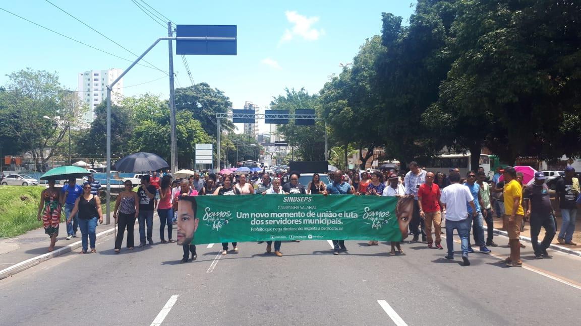Servidores Municipais deflagram greve por tempo indeterminado