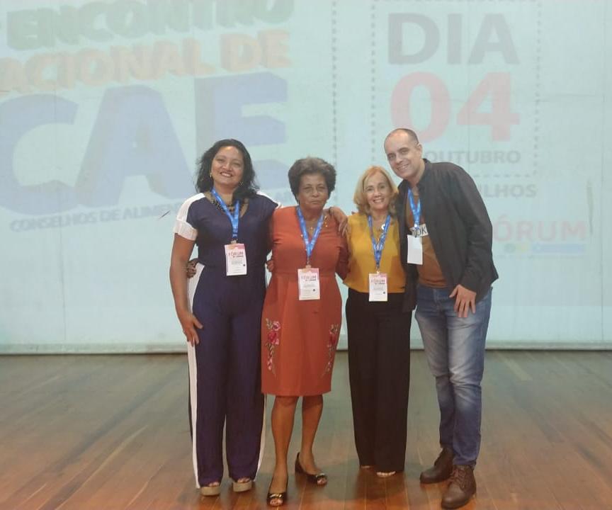 CTB-Bahia participa do Fórum Nacional dos Conselhos de Alimentação Escolar