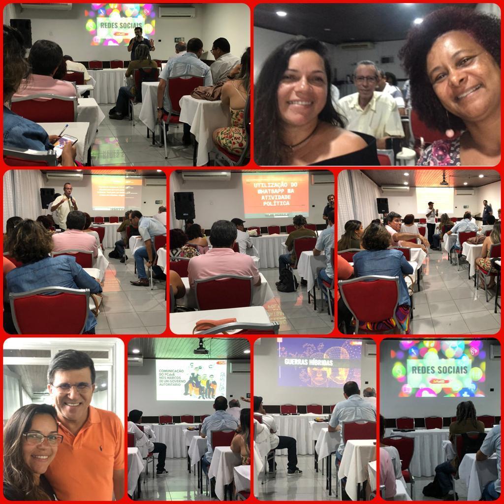 PCdoB-BA promove curso sobre utilização das redes sociais em Salvador