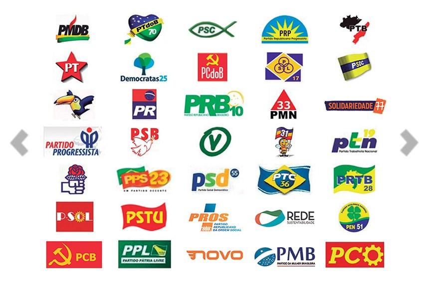 Aproveitamento dos partidos nas eleições municipais