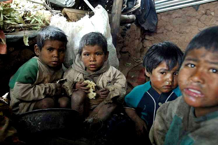 Pobreza e fome, dois criminosos soltos no mundo